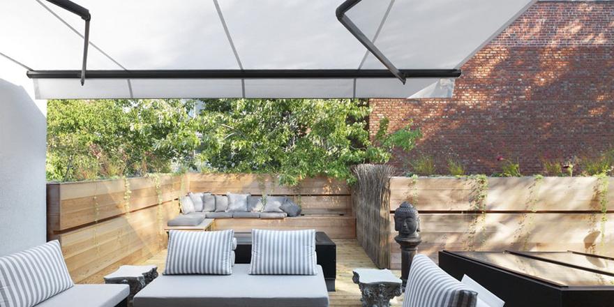s offrir un toit terrasse pour une meilleure vue. Black Bedroom Furniture Sets. Home Design Ideas