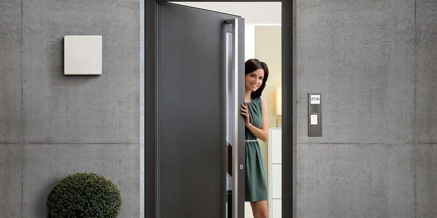choisir pour sécuriser porte d'entrée